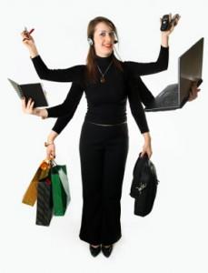 -woman-resources muilitasking
