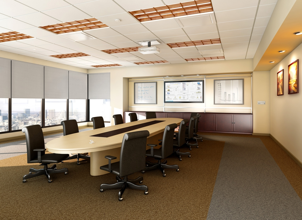 How conference rooms can play multiple roles - Interior design ideas for conference rooms ...