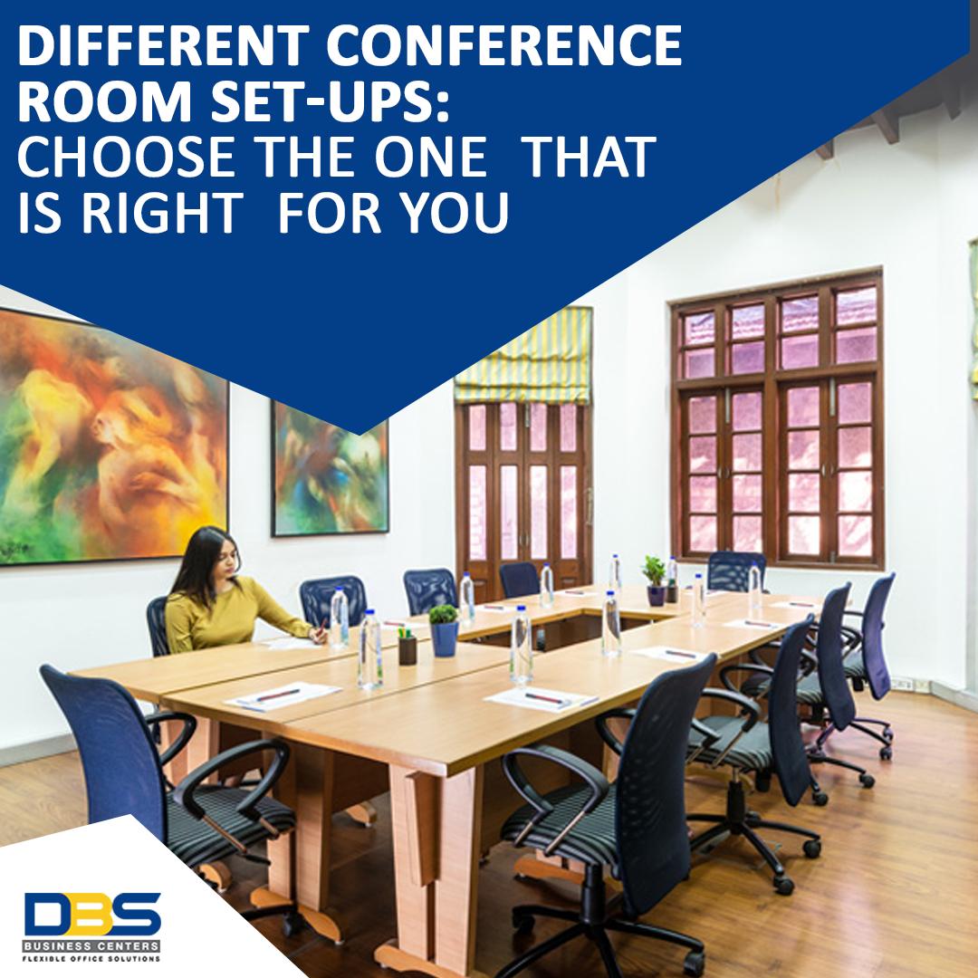 Different Conference Room Set-ups